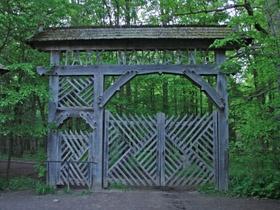 Brama wejściowa do Rezerwatu Ścisłego