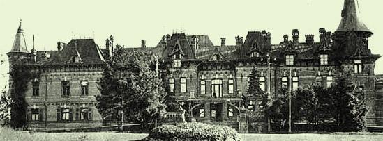 Pałac w latach swojej świetności